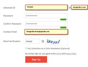 register info